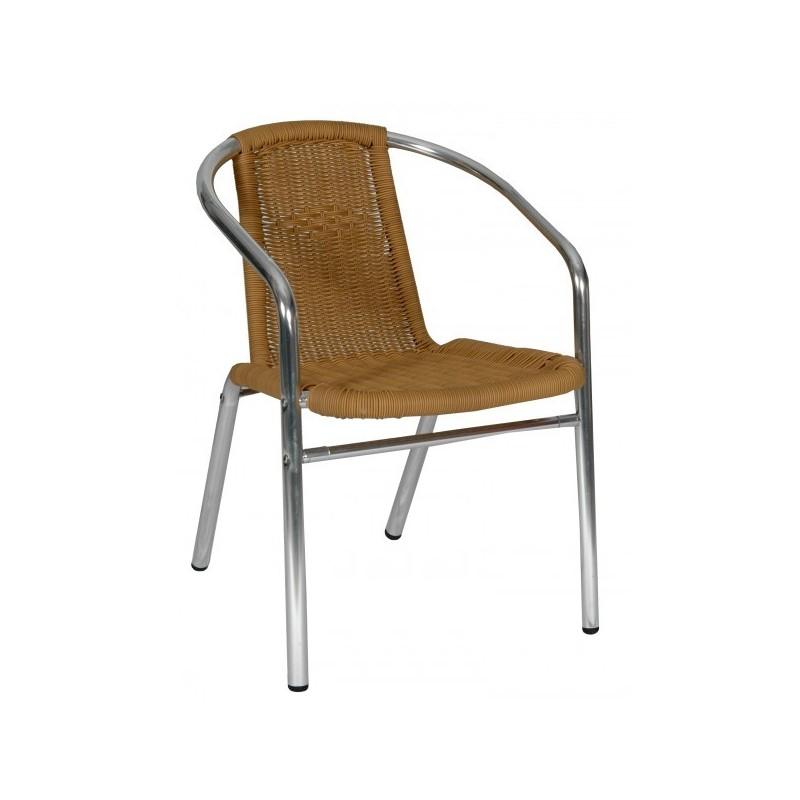 Hliníková stolička LEA honey 5001AR