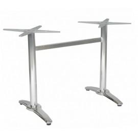 Alumínium dupla asztalláb
