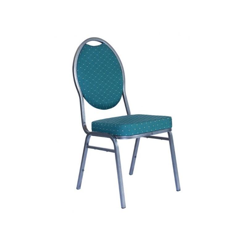 Banketová oceľová stolička DIANA green 4001S
