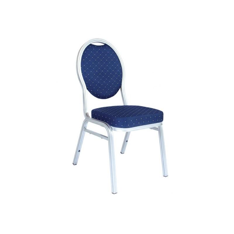 Banketová hliníková stolička VIVIEN blue 4001A