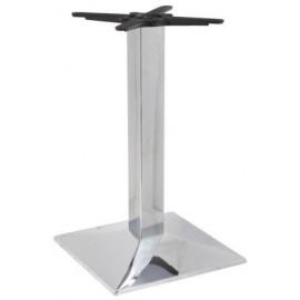 Chromed iron table base