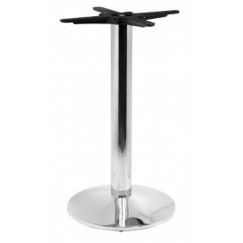 Chromovaná stolová noha
